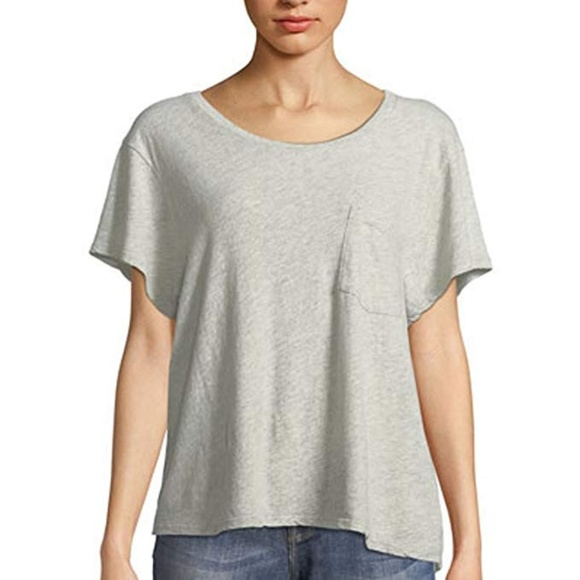 James Perse | Cropped Boxy Tee